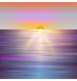 Sunrise abstract background vector image