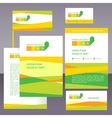 logo and corporate style energy efficiency vector image