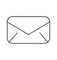 email envelope message communication close vector image