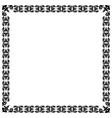 Modernistic black frame eps10 vector image