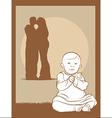 Baby Couple vector image vector image