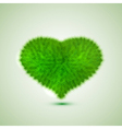green hert Eps10 vector image