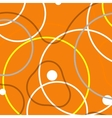 background with abstract circles and vector image