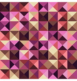 Abstract geometric vintage background vector image