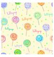 Lollipop pattern vector image