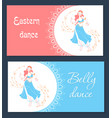 belly dance day banner vector image