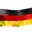 germany flag textured vector image vector image