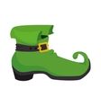 boot irish celebration vector image