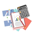 Concepts for business analysis consulting and vector image