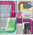 Set of abstract background set of abstract back vector image