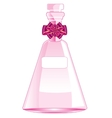 Rose vial with spirit vector image vector image