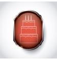 party birtday icon design vector image