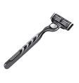 shaving razor vector image