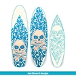 Surfboard Design One vector image