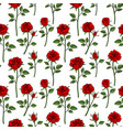 floral english victorian seamless background vector image