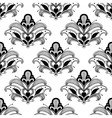 Ornate floral persian seamless pattern vector image vector image
