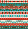 native american border patterns vector image