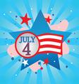 july 4 celebration vector image