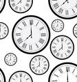 Clock pattern vector image