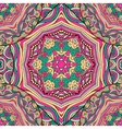 Bohemian style seamless tile vector image
