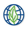 eco earth save vector image