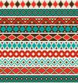 Native american border patterns vector image