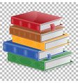 education concept with books vector image