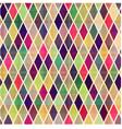 seamless rhombus geometric pattern vector image vector image