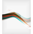 Abstract Blurred Waves In The Air vector image