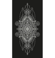 Mandala tattoo Perfect card for any other vector image