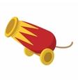 Circus cannon cartoon vector image