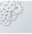 modern mechanism industrial concept vector image