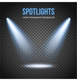 Spotlight isolated Scene illumination vector image