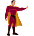 superhero power vector image