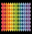 Rainbow Plaid Background pattern and texture vector image