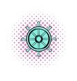 Drachma comics icon vector image