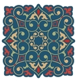Arabic floral element for design vector image