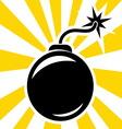 bomba2 vector image
