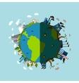 Environmental Pollution Poster vector image