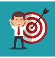success businessman strategys concept vector image