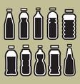 bottles1 vector image vector image