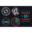 UI infographic interface web elements vector image