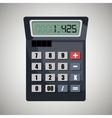 calculating costs design vector image