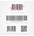 set barcode vector image