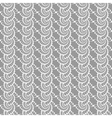 Design seamless monochrome helix vertical pattern vector image