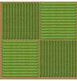 Simple pattern of crop vector image