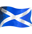 Scottish Flag vector image vector image