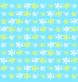 bright exotic flower pattern vector image