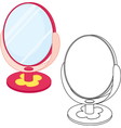 Mirror toy vector image