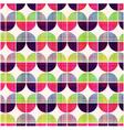 seamless geometric circular pattern vector image